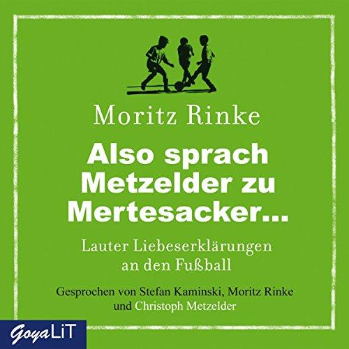 Also sprach Metzelder zu Mertesacker... Titelbild