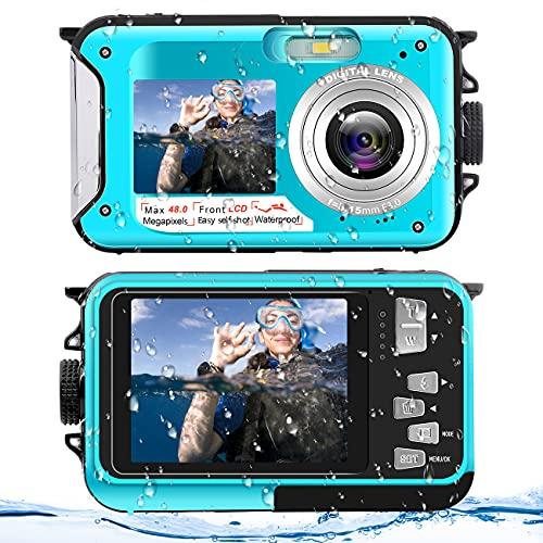 Unterwasserkamera Wasserdichte Kamera...