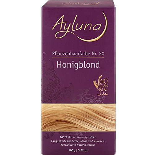 Ayluna Pflanzenhaarfarbe 20 Honigblond