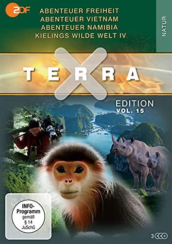 Terra X - Edition Vol. 15: Abenteuer Freiheit / Abenteuer Vietnam / Abenteuer Namibia / Kielings wilde Welt Staffel 4 [3 DVDs]