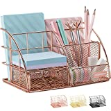 Rose Gold Desk Organizer for Wom...