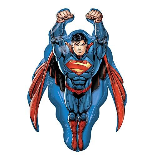 Superman Super Shape Mylar Balloon