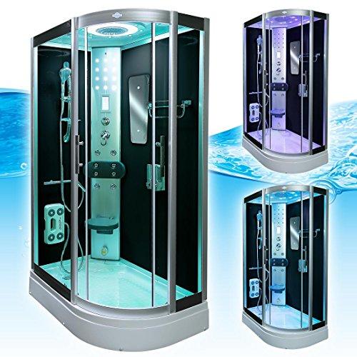 AcquaVapore DTP8060-7302R Dusche Dampfdusche Duschtempel Duschkabine 80×120, EasyClean Versiegelung der Scheiben:2K Scheiben Versiegelung +89.-EUR - 4