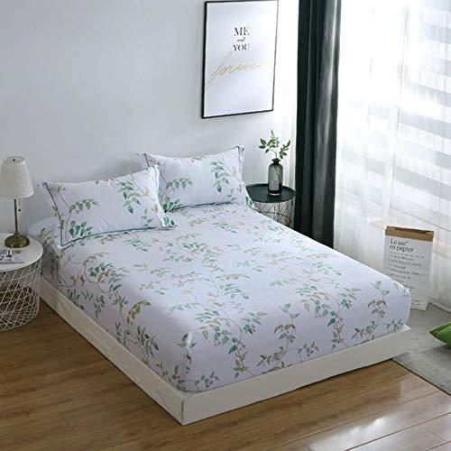 LIMMC Groothandel 1 Stks Bed Set Hoeslaken Geen Kussensloop 100% Katoen Koning Volledige Twin Queen Size Bed Sheet met Elastische Hoge 28 cm