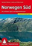 Norwegen Süd: Die schönsten Fjord- und Bergwanderungen. 53 Touren mit GPS-Tracks (Rother Wanderführer)