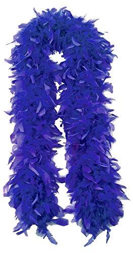 Federboa Extraordinary 180 cm Blau