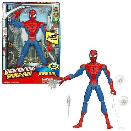 Spiderman 12 inch Wisecracking Spider Man Action Figure