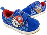 Paw Patrol Toddler Shoes with Adjustable Strap,Chase Marshall Sneakers,Toddler Size 6 Navy