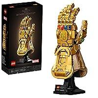 Dieses LEGO Marvel Set enthält eine Nachbildung des ikonischen Thanos Handschuh mit Infinity Steinchen und einen stabilen Ständer mit einer anschaulichen Halterung Der ikonische, goldene Thanos Handschuh fängt für immer den fesselnden Stil von Marvel...