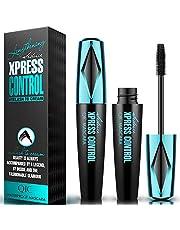 START MAKERS Mascara Start Makers Viblly 4D Waterproof Curl Fiber Mascara Brush Long Lash Extension Tool,Black,32g