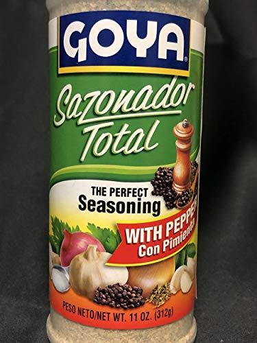 Goya Sazonador Total Con Pimienta 11 Ounce 2 Pack Adobo Seasoning With Pepper Buy Online In Bosnia And Herzegovina At Bosnia Desertcart Com Productid 41276224