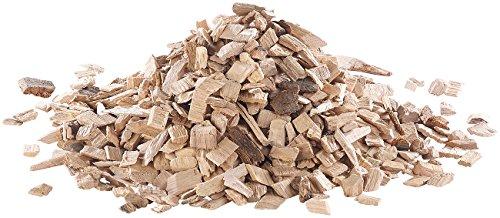 Carlo Milano Räucherholz: Räucher-Chips zum Aromatisieren von Grillgut, 100% Buchenholz, 1 kg (Räucherholzmischung für Grill)