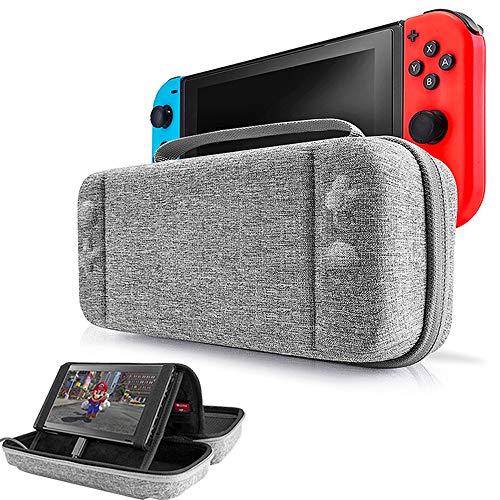 Funda para Nintendo Switch, EFFE Estuche de almacenamiento Bolsa protectora Cubierta rígida de la…