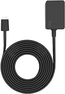 3 meter Power Adaptor for Ring Indoor Cam, Black
