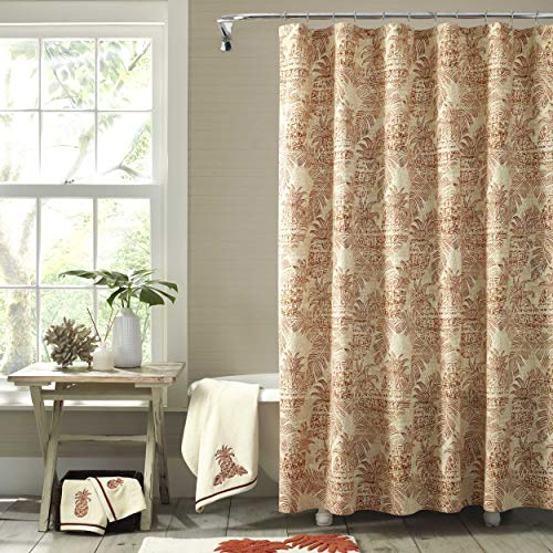 Tommy Bahama  Batik Pineapple Shower Curtain