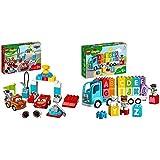 LEGO 10924DuploCarsDíaDeLaCarreraDeRayoMcqueenJugueteDeConstrucción+10915DuploMyFirstCamióndelAlfabetoJugueteEducativoparaNiñosYNiñas+1,5Añocon2MiniFiguras