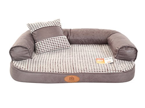 PLS Birdsong Lounger Sofa, Large, Firm Orthopedic Dog Bed