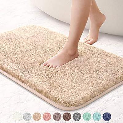 Soft Absorbent Non Slip Bathroom Rugs Thick Microfiber Cozy Throw Bath Mat