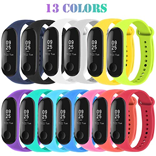 Madozon 13 Piezas Correas Xiaomi Mi Band 3 /Mi Band
