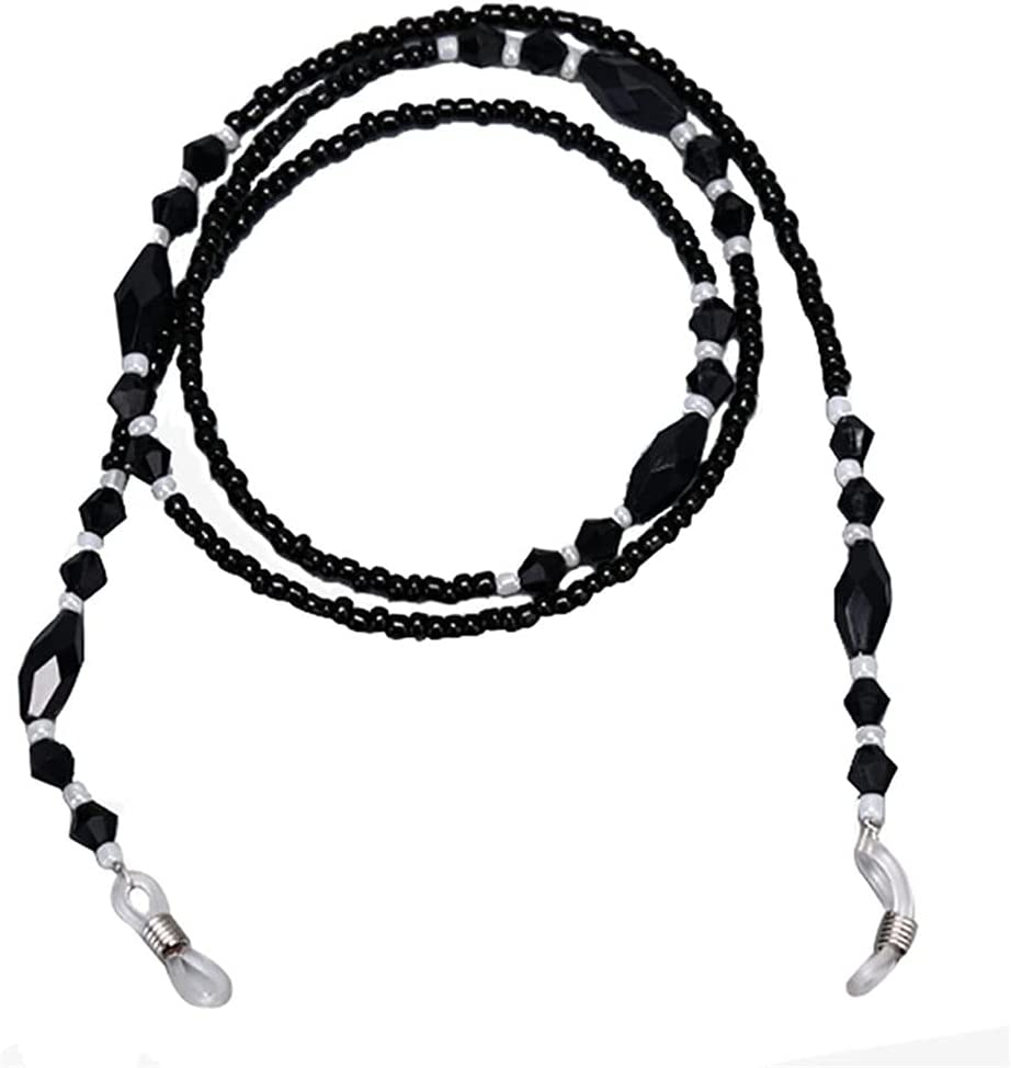 DIAOD Pearl Beaded Eyeglasses Sunglasses Eyeglass Chain Sunglass Eyeglasses Reading Glasses Chain Cord Holder About 70cm (Color : C)