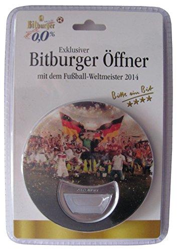 Bitburger - Fußball Weltmeister 2014 - Flaschenöffner von Ritzenhoff