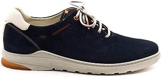 Fluchos | Zapato de Hombre | Jack F1158 Delbuck Oceano C.4 | Zapato de Piel de Nobuck | Cierre con Cordones | Piso TR