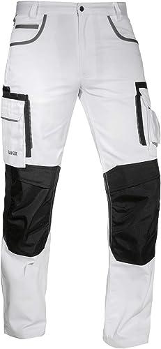 Uvex Tune Up Pantalon de Travail Homme - Pantalon Cargo - avec Poches Pratiques et Poches Rembourrées au Niveau du Ge...