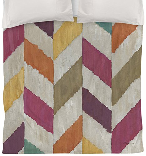 Manual Woodworkers & Weavers Duvet Cover, Queen/Full, Somersault