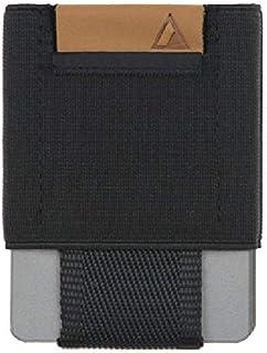 Basics NOMATIC Black Slim Minimalist Wallet- Everyday Carry Card Holder- Keys, Cash, Coin