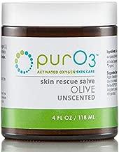 PurO3 Fully Ozonated Olive Oil - 4 Oz - Glass Jars
