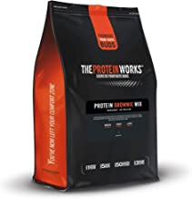 The Protein Works High Protein Brownie Mix Low Sugar Chocolate Fudgy 200 g Estimated Price : £ 5,99