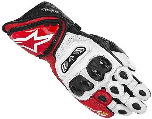 Alpinestars GP-Tech Handschuhe 2013 L Weiß/Rot/Schwarz