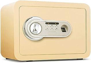 Anti-Theft Safe Household Small Mini Fuse Box Fingerprint Unlock Wall Safe (Size: 25 X 25 X 35cm) (Color : A)