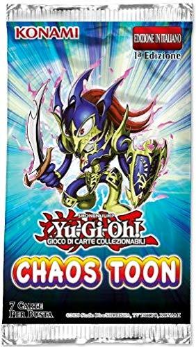 Konami TOCH Toon Chaos Bustina con 7 Carte Yu-Gi-Oh