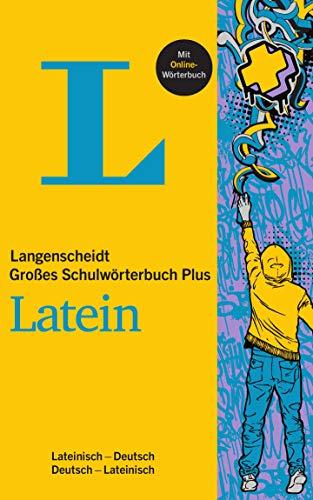 Langenscheidt Großes Schulwörterbuch Plus Latein: Latein-Deutsch/Deutsch-Latein