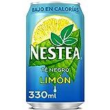 Nestea Té Negro Limón - Refresco de té sin gas Bajo en calorías - lata 330 ml