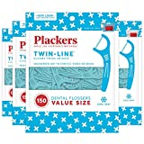 Plackers Twin-Line Dental Floss Picks