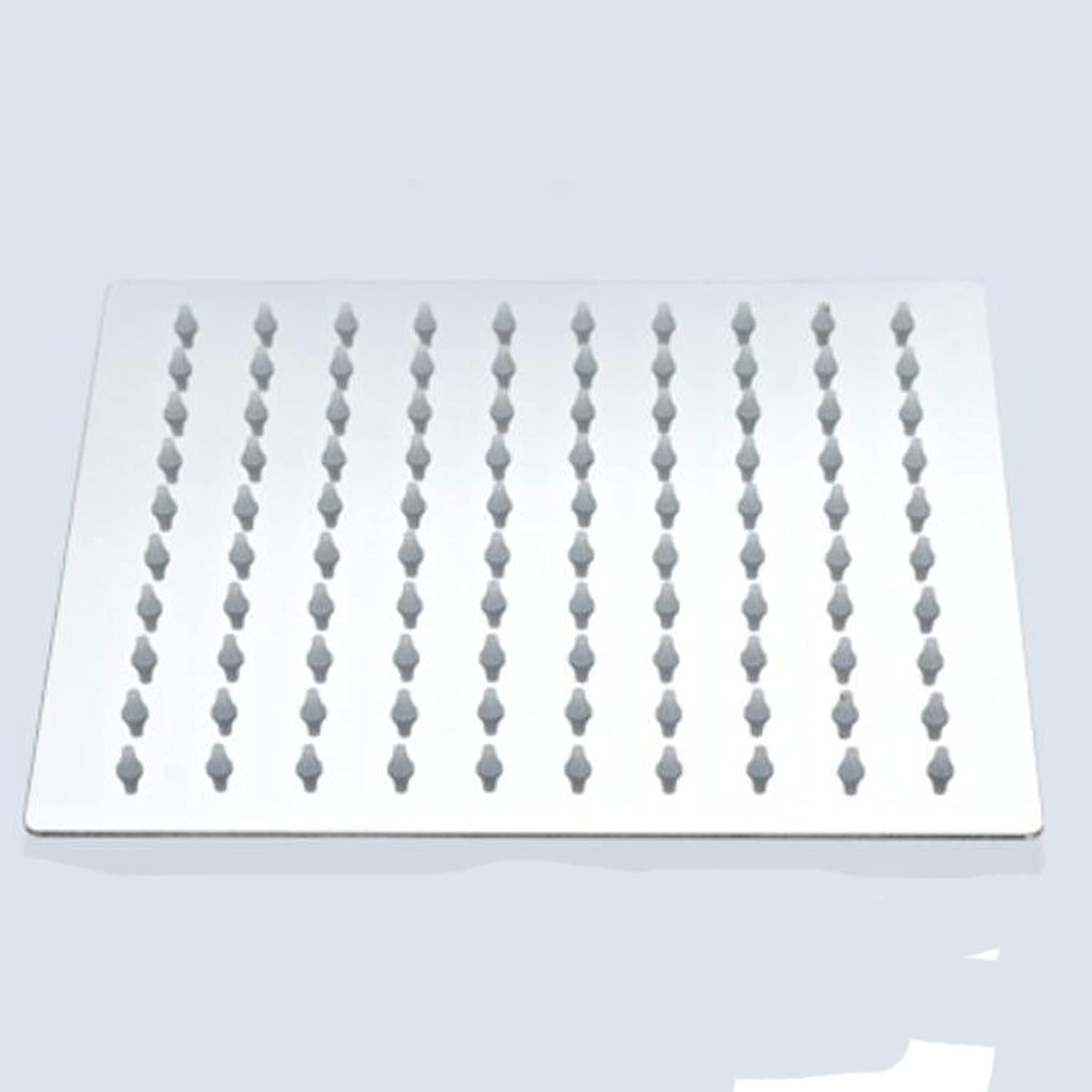 Rollsnownow 304 stainless steel square shape side length of 15 cm the number of holes 56 shower large water massage to enjoy
