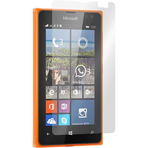 PhoneNatic 8er-Pack Bildschirmschutzfolien matt kompatibel mit Microsoft Lumia 532