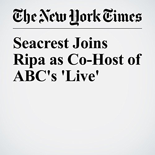 Seacrest Joins Ripa as Co-Host of ABC's 'Live' audiobook cover art