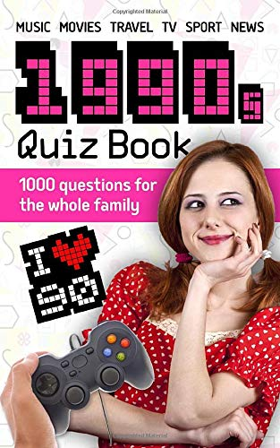 1990s Quiz Book by Lukas Alexandr (Kindle or paperback). 1000 Questions for the Whole Family. Go back to the decade of Titanic, Oasis and Frasier.
