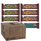 Bombus Energieriegel - Vegan Raw Glutenfrei ohne Zusatz von Zucker und ohne Konservierungsstoffe (Probierpaket High Protein)