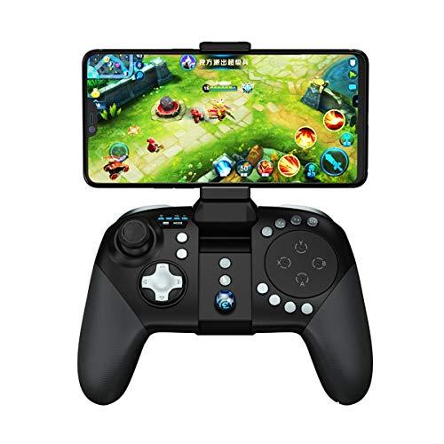Ouqian Manette de Jeu Bouton Mobile Phone Jeu Mobile Controller Gamepad Manette de Jeu Tir Gaming Portable Joystick Poignée (Couleur : Black, Size : 16x11x7cm)