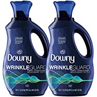 2-Pack Downy Wrinkleguard Liquid Fabric Conditioner Fresh Scent, 48 Oz
