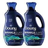 Downy Wrinkleguard Liquid Laundry Fabric Softener, Fresh Scent, 192 Total Loads (Pack of 2)