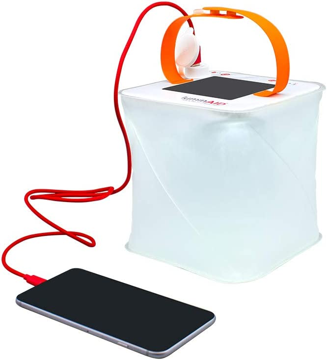 LuminAID PackLite Max 2-in-1 Camping Packlite Phone Charger