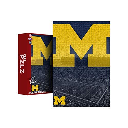 FOCO Michigan Wolverines NCAA Michigan Stadium 1000 Piece Jigsaw PZLZ (PZLZNCJG1000ST)