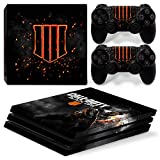 46 North Design PS4 Pro Vinyl Decal Autocollant Skin Sticker COD Pour Playstation 4 console + 2...