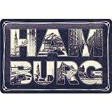 Nostalgic-Art Retro Blechschild Hamburg –
