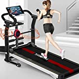 Manual Treadmill 6-in-1, with APP Monitoring, Wireless Speaker, Sit-ups Pannel, T-Twisting...